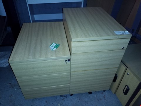 Lot 17070 LOT OF 2 OFFICE STORAGE DRAWERS