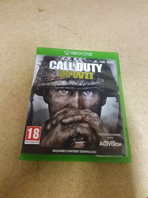 Lot 8235 CALL OF DUTY WWII FOR XBOX ONE