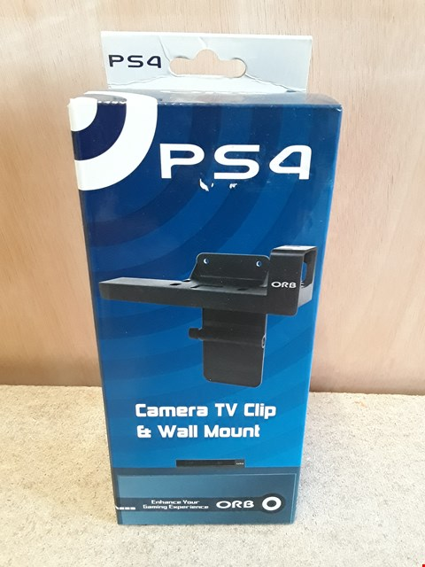 Lot 577 BRAND NEW BOXED ORB PS4 CAMERA TV CLIP AND WALL MOUNT