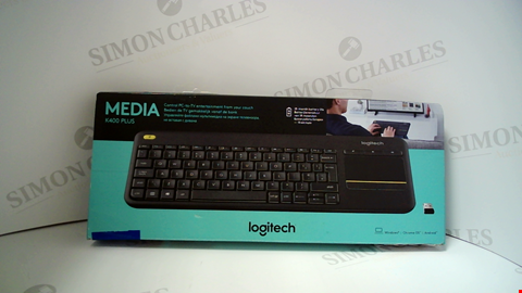 Lot 17186 LOGITECH K400 PLUS TV KEYBOARD