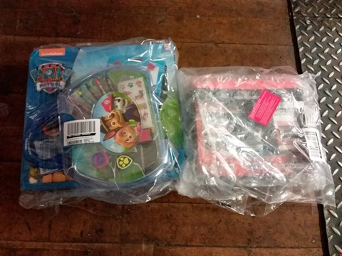 Lot 2535 LOT OF 2 GRADE 1 ITEMS TO INCLUDE L'OREAL KICK START KIT, PAW PATROL TRAVEL ART EASEL RRP £53