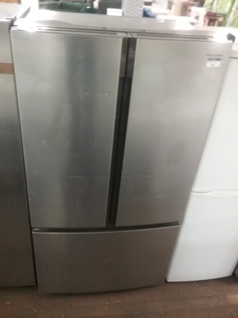 Lot 147 HISENSE RF715N4AS1 91CM WIDE, TOTAL NO FROST , FRENCH DOOR, FOOD CENTRE FRIDGE FREEZER - STAINLESS STEEL EFFECT RRP £1279.00