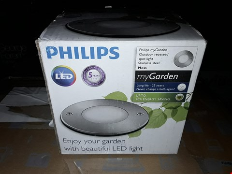 Lot 1202 PHILIPS MYGARDEN OUTDOOR SPOT LIGHT