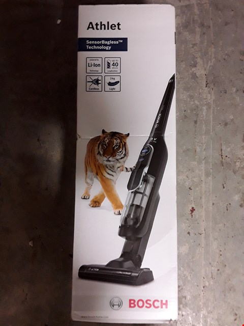 Lot 328 BOSCH ATHLET 18V LITHIUM POWER VACUUM CLEANER