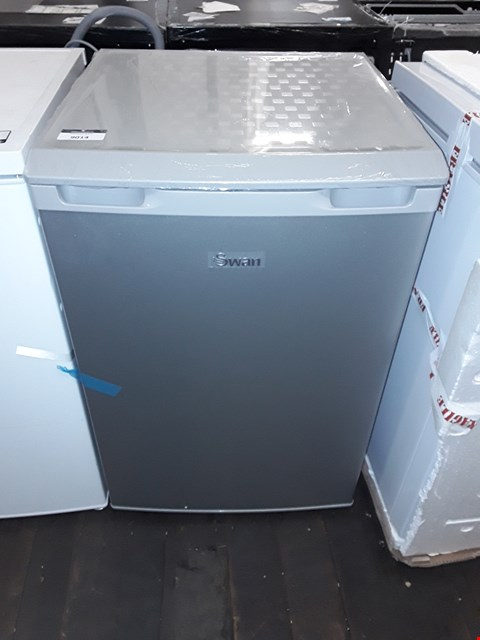 Lot 9014 SWAN SR70200S 55CM WIDE UNDER-COUNTER LARDER FRIDGE - SILVER