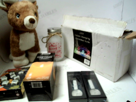 Lot 5044 LOT OF ASSORTED ITEMS TO INCLUDE PLUSH TOYS, SEASONAL GOODS, JEWELLERY ETC