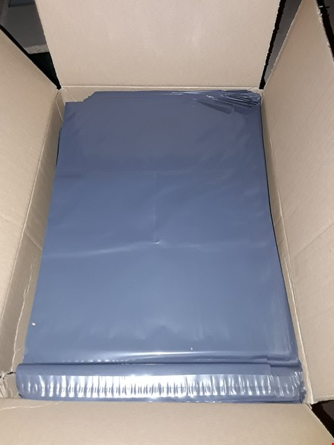 Lot 784 BOX OF 500 VERSAPAK VERSAECONOMY 240 X 350 MONO KE2 GREY OPAQUE POLYTHENE SELF SEAL BAGS