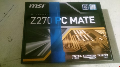 Lot 63 MSI  GAMING MOTHERBOARD