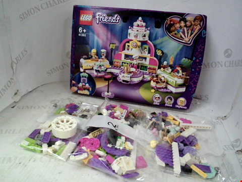 Lot 10096 BOXED LEGO FRIENDS BAKING COMPETION SET RRP £45.00