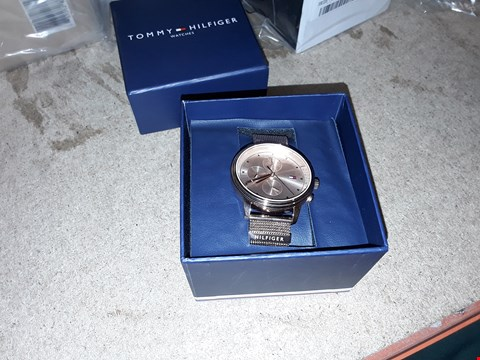 Lot 9224 TOMMY HILFIGER ROSE GOLD MULTI DIAL WATCH  RRP £240.00