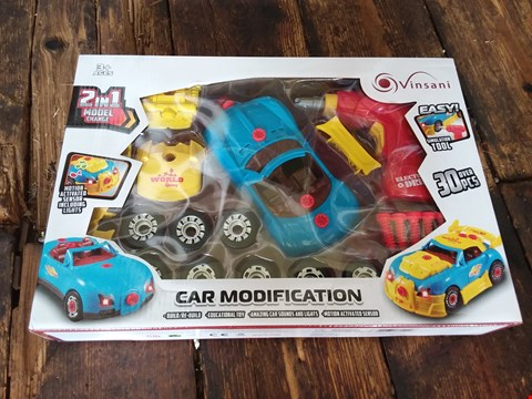 Lot 11186 LOT OF 3 RACING CAR MODIFICATION KITS