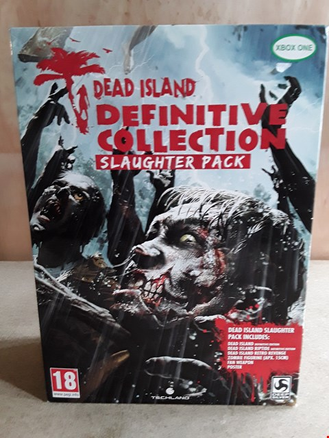 Lot 4 BRAND NEW BOXED DEAD ISLAND DEFINITIVE COLLECTION SLAUGHTER PACK XBOX GAME