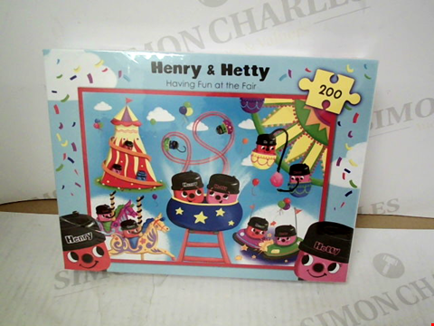 "Lot 3123 HENRY & HETTY ""HAVING FUN AT THE FAIR"" 200-PIECE JIGSAW PUZZLE"