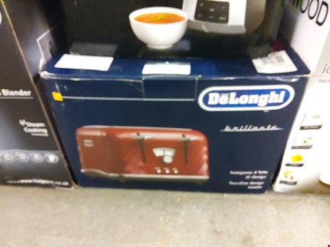 Lot 9020 BOXED DELONGHI BRILLIANTE TOASTER
