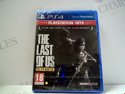 Lot 5616 THE LAST OF US: REMASTERED PLAYSTATION 4 GAME
