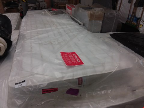 Lot 621 BAGGED AIRSPRUNG SINGLE MATTRESS