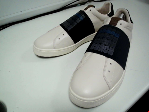 Lot 3565 BRAND NEW COACH G3876 BAND STRAP TRAINERS SIZE 10.5D