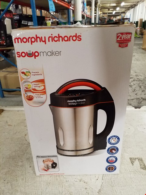 Lot 8398 MORPHY RICHARDS SOUP MAKER