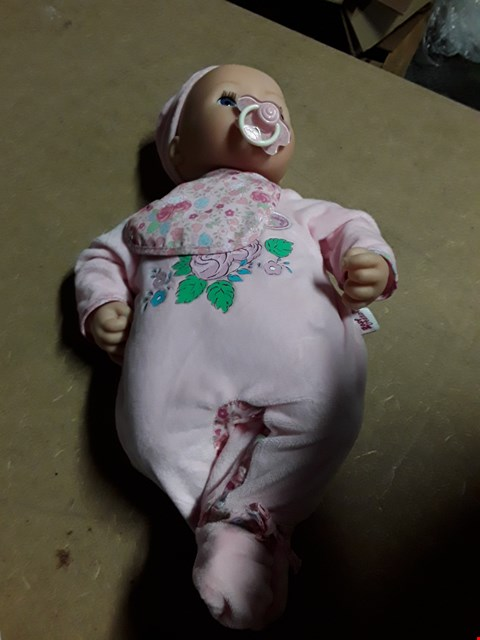 Lot 530 BABY ANNABELL DOLL RRP £69.99