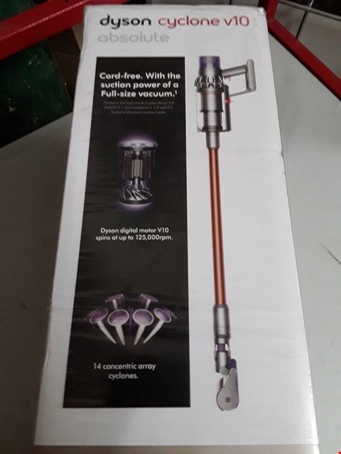 Lot 131 DYSON CYCLONE V10 ABSOLUTE VACUUM