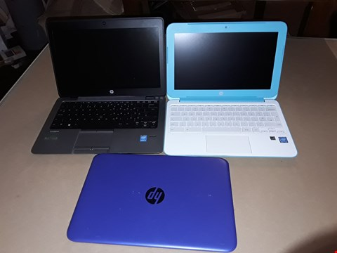 Lot 24 LOT OF 3 HP LAPTOPS TO INCLUDE ELITEBOOK AND STREAM MODELS