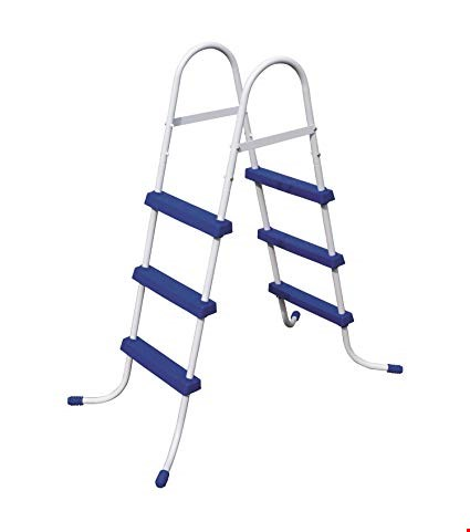 Lot 12 BRAND NEW BESTWAY FLOWCLEAR POOL LADDER ( shrink wrapped)