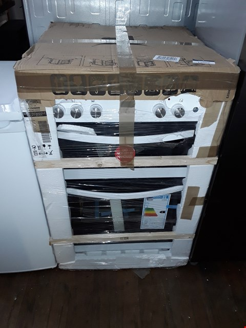 Lot 11002 SWAN SWAN SX15880W 60CM DOUBLE ELECTRIC COOKER WHITE