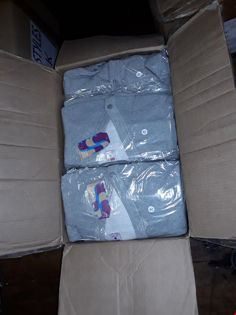 Lot 1365 A BOX OF APPROXIMATELY 50 GIRL'S CARDIGANS - GREY