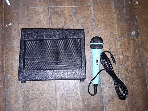 Lot 2333 GRADE 1 MOANA PORTABLE KARAOKE MACHINE WITH MICROPHONE  RRP £63