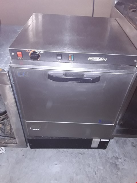 Lot 52 COMMERCIAL STAINLESS STEEL SOWEBO DISHWASHER