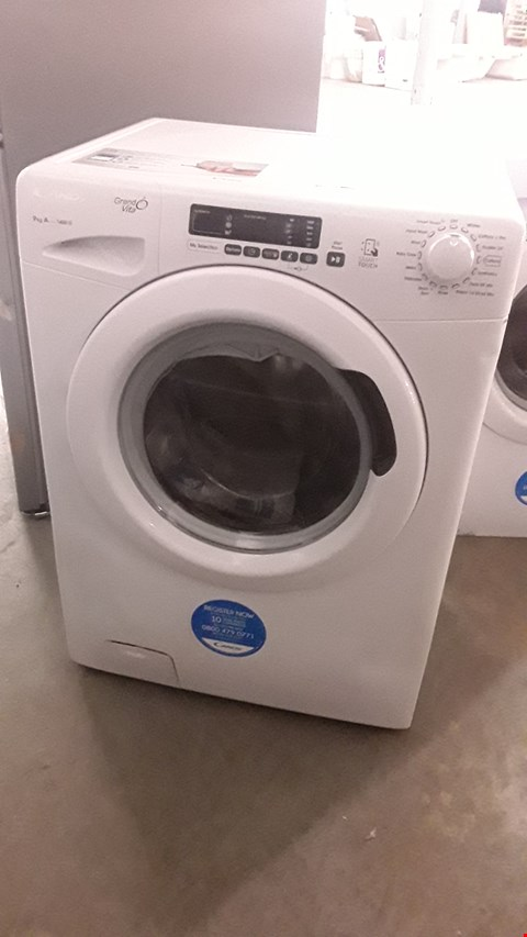 Lot 6 CANDY 9KG GRAND VITA GVS149D3 WASHING MACHINE WHITE RRP £299.99