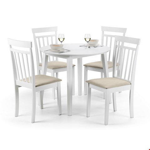 Lot 3511 BOXED COAST WHITE DINING TABLE (1 BOX)