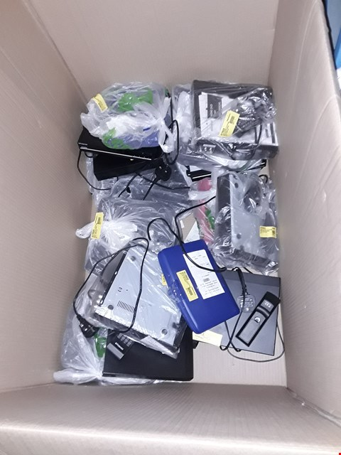 Lot 1245 LARGE BOX OF APPROXIMATELY 15 ASSORTED POLAROID DVD AND PORTABLE DVD PLAYERS