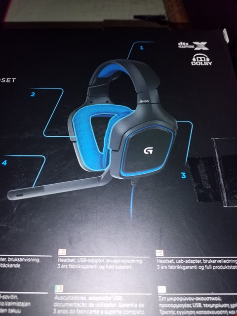 Lot 648 LOGITECH G430 SURROUND SOUND GAMING HEADSET
