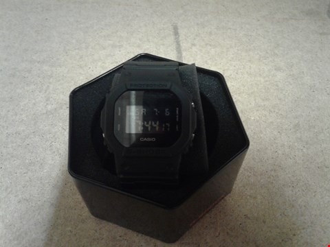 Lot 9034 CASIO G-SHOCK ALL BLACK ILLUMINATOR 2000M WATCH  RRP £90.00