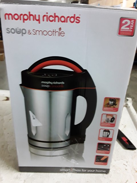 Lot 8387 MORPHY RICHARDS SOUP & SMOOTHIE MAKER
