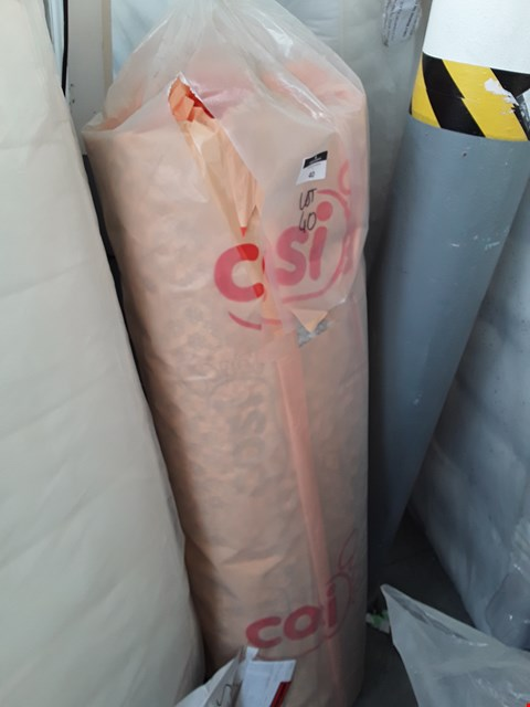 Lot 40 BAGGED ROLL OF COSIFOOT UNDERLAY