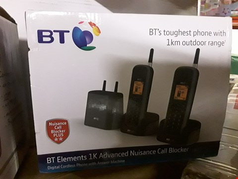 Lot 711 2 ITEMS TO INCLUDE BT ELEMENTS 1K ADVANCED NUISANCE CALL BLOCKER PHONE AND COPPER COCKTAIL SET RRP £199.99