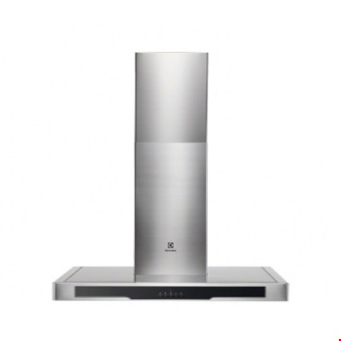 Lot 12092 ELECTROLUX KFT719X 90CM CHIMNEY HOOD  RRP £584.00