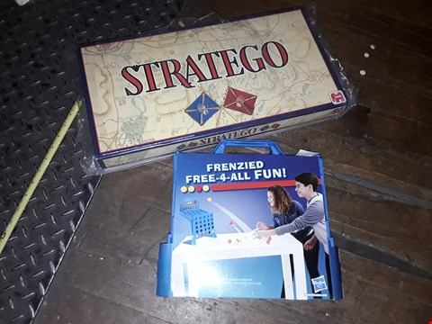 Lot 6061 STRATEGO BOARD GAME AND FRENZIED FREE 4 ALL FUN