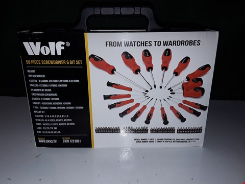 Lot 1297 WOLF WATCHES TO WARDROBE SCREWDRIVER SET