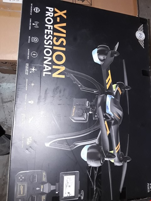 Lot 929 X-VISION PROFESSIONAL DRONE WITH HD CAMERA