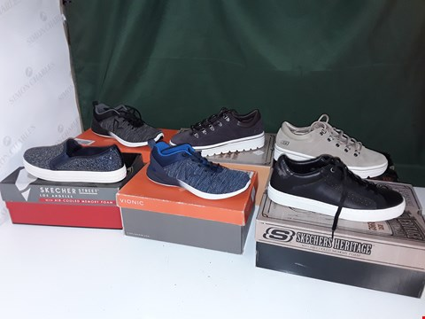 Lot 1063 LOT OF APPROXIMATELY 6 ASSORTED PAIRS OF SHOES TO INCLUDE SKETCHERS, VIONIC