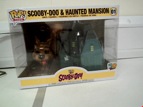 Lot 8089 BOXED POP! TOWN SCOOBY-DOO & HAUNTED MANSION VINYL FIGURES