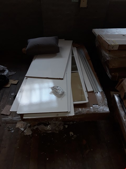 Lot 12294 PALLET OF ASSORTED FLAT PACK FURNITURE PARTS