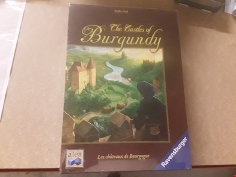 Lot 322 BOXED RAVENSBURGER THE CASTLES OF BURGUNDY