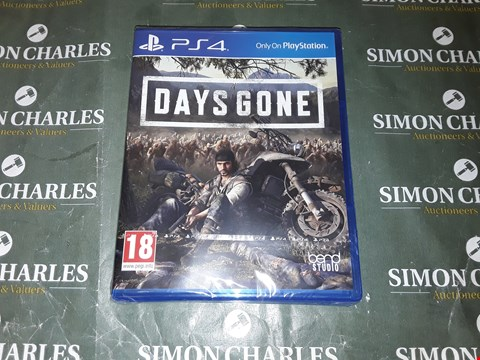 Lot 2028 DAYS GONE PS4 GAME RRP £65.00