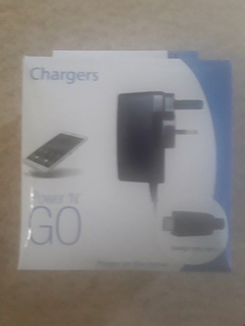 Lot 363 LOT OF 4 BRAND NEW ITEMS TO INCLUDE POWER 'N GO PHONE CHARGERS (NOT COMPATIBLE WITH IPHONE)