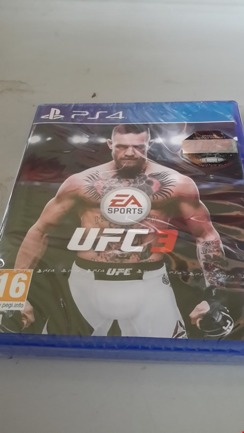Lot 9002 UFC3 FOR PS4