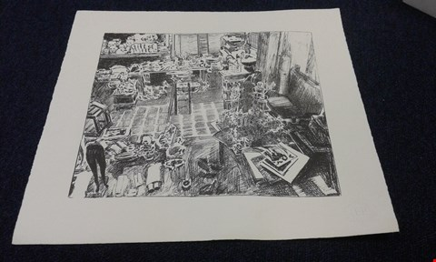 Lot 8243 EDWARD PAOLOZZI EMBOSSED 'UNTITLED' PRINT